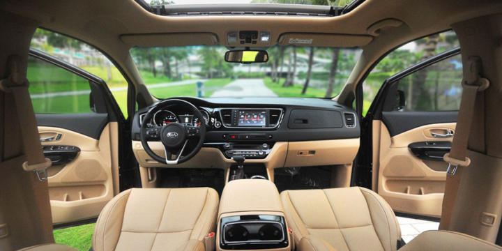 Địa chỉ cho thuê xe Sedona 7 chỗ sang trọng và đảm bảo chất lượng