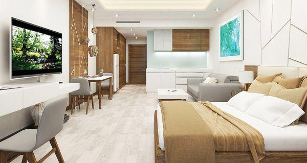 Thuê 1 bedroom apartment tại những dự án lớn có ưu điểm gì?